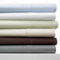 Sunham Bradford Collection 420T Ivory Queen Sheet Set