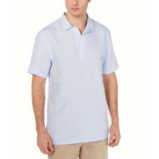 Tasso Elba Men's Linen Stratta Shirt (Billowing Cloud, S)