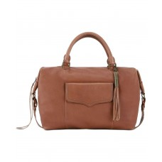 The Sak Sierra Leather Satchels, Pastel Brown