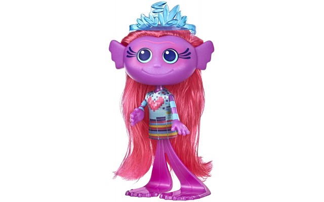 DreamWorks World Tour Stylin' Mermaid Fashion Doll with Removable Dress and Tiara Accessory, Fashion Doll Toy for Girls