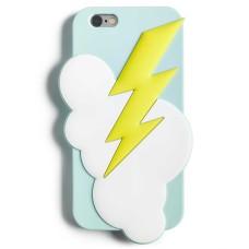 Twelve NYC Lightning Bolt Phone Case For Iphone 6/6S (Light Blue)