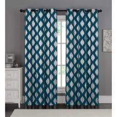 Victoria Classics Sorrento 76 x 84 Panel Pair Blue 76x84