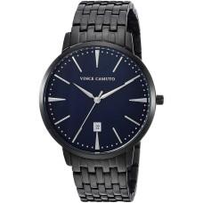 Vince Camuto Men's VC/1074NVTI Date Function Dial Black Bracelet Watch