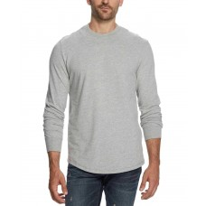 Weatherproof Vintage Men's Brushed Jersey T-Shirt (Light Gray, 2XL)