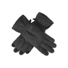 180s Plush Fleece Alltouch Tech Gloves (Black, L)