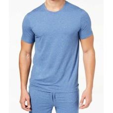 32 Degrees Mens Short-Sleeve Pajama Sleep T-Shirt (Royal Blue, M)