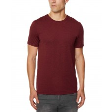 32 Degrees Men's Techno Mesh Performance T-Shirt (Wine, XXL)