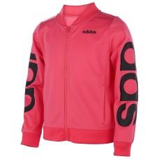 Adidas Big Girls Linear Tricot Jacket