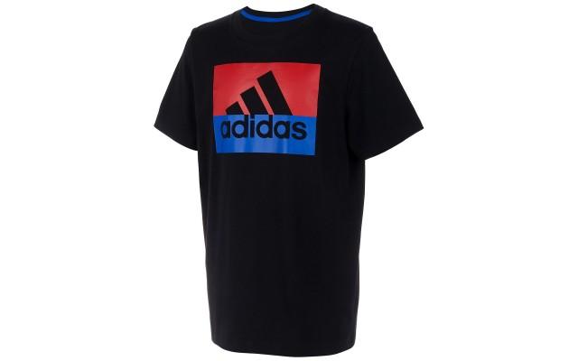 Little Boys Colorblocked Logo-Print Cotton T-Shirt (Black, 5)