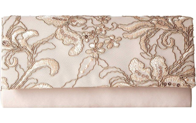 Sibel Small Clutch Oyster