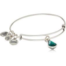Alex and Ani Birth Month(December) Charm with Swarovski Crystal Bangle Bracelet