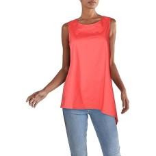 Alfani Asymmetrical Sleeveless Tunic (Red, X-Large)