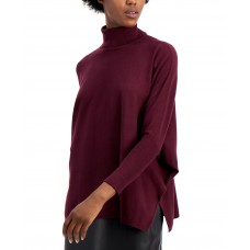 Alfani Drop-Shoulder Turtleneck Sweater