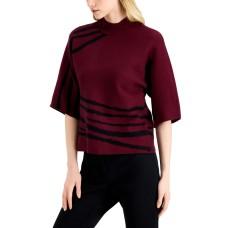 Alfani Kimono-Print Sweater