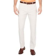 Alfani Men's AlfaTech Classic-Fit Stretch Pants, Beige, 40×32