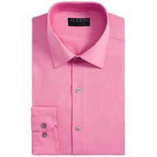 Alfani Men's Bedford Cord Classic/Regular Fit Dress Shirts