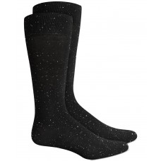 Alfani Mens Casual Speckled Crew Dress Socks
