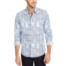 Alfani Men's Classic-Fit Geo-Print Shirts