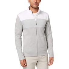 Alfani Men's Colorblocked Full-Zip Jacket