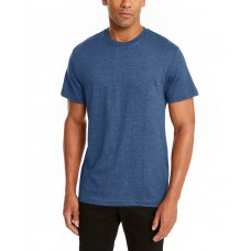 Alfani Men's Crewneck Undershirt, Blue, Large