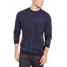 Alfani Men's Paint Splatter Crewneck Sweater