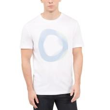 Alfani Men's Prisma Graphic T-Shirt, White, M