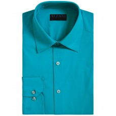 Alfani Mens Slim-Fit Performance Stretch Easy-Care Solid Dress Shirts