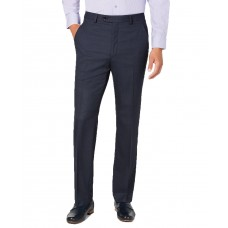 Alfani Men's Slim-Fit Performance Stretch Windowpane Suit Separate Pants (Blue, 30×30)