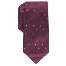 Alfani Men's Slim Neat Tie (Burgundy)