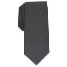 Alfani Men's Slim Textured Tie (Black)