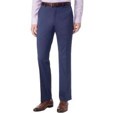 Alfani Men's Stretch Performance Solid Classic Fit Pants (Navy, 36×32)