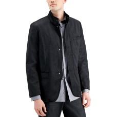 Alfani Men's Textured Hybrid Sportcoat (Black, XX-Large)