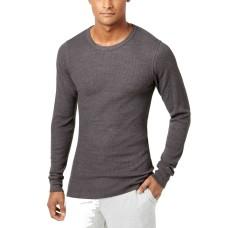 Alfani Men's Thermal Shirt (Charcoal, XXL)