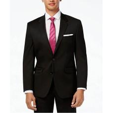 Alfani Men's Traveler Solid Classic-Fit Jacket (Black, 38 R)