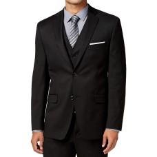 Alfani Mens Traveler Woven Notch Lapel Two-Button Suit Jacket