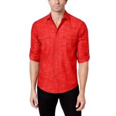 Alfani Men's Warren Long Sleeve Shirt