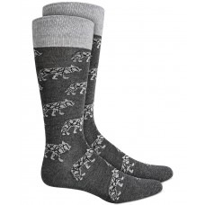Alfani Men's Wolf Socks, Gray