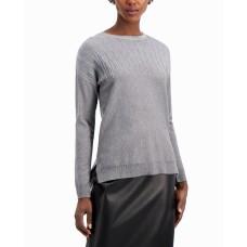 Alfani Metallic-Detail Vented-Hem Sweater, in Regular & Petite