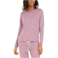 Alfani Okeo-Tex® Tie-Waist Sleep Top, Purple, XX-Large