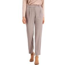 Alfani Pleated Slim-Fit Pants (Beige)
