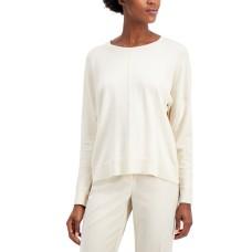 Alfani Seam-Front Scoop Neck Sweater