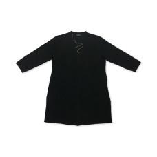 Alfani Wavy-Stitch Open-Front Cardigan (Black, Large)