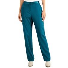 Alfani Women Jacquard-Print Straight-Leg Pants