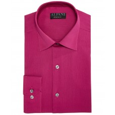 AlfaTech by Alfani Men's Bedford Cord Classic/Regular Fit Dress Shirt