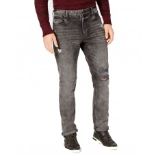 American Rag Men's Slim-Fit Stretch Ripped Jeans (Gray, 31×30)