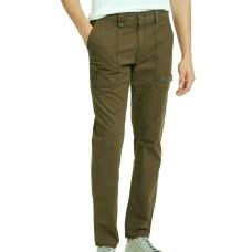 American Rag Mens Utlity Cargo Pants Belted Ripstop Slim Fit (Green, 31/30)