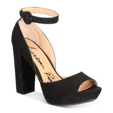 American Rag Reeta Block-Heel Platform Sandals  Microsuede
