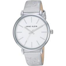 Anne Klein Women's AK/3379SVSI Silver-Tone Strap Watch