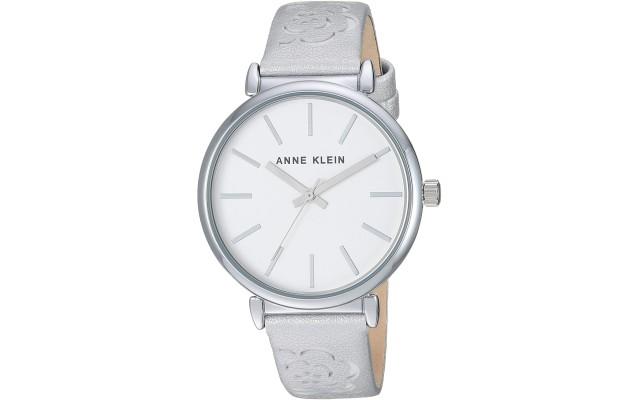 Women's AK/3379SVSI Silver-Tone Strap Watch