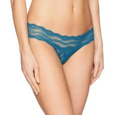 B.tempt'D By Wacoal  Women's 'Lace Kiss' Bikini Underwear (Mykonos Blue, S)